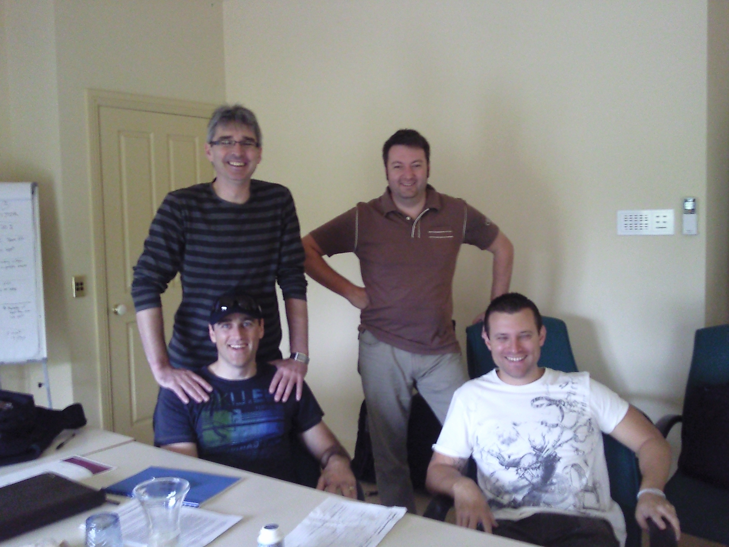 Computershare Technology Solutions management team with Adam, Andrew ...